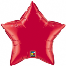 "Red Star Foil Balloon (36"") 1pc"